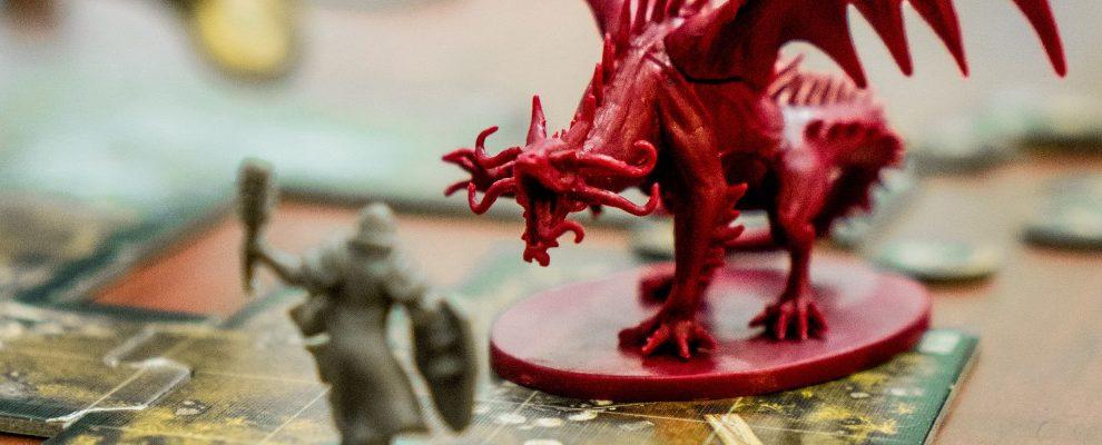 dragon board game pieces